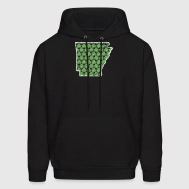 Shamrock Outfit Arkansas St Pattys Birthday - Men's Hoodie