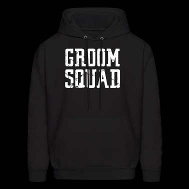 Groom Squad Bridal Party Groomsmen squad t Shirts - Men's Hoodie