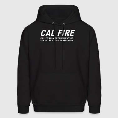New California Firefighter Fire Department Rare Fi - Men's Hoodie