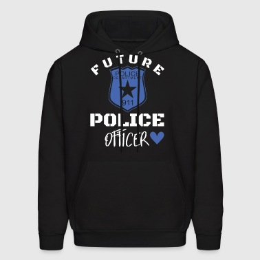 Future police department 911 police officer police - Men's Hoodie