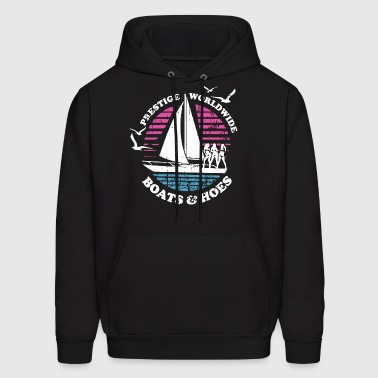 Boats N Hoes Step Brothers Huff Doback Anchor - Men's Hoodie