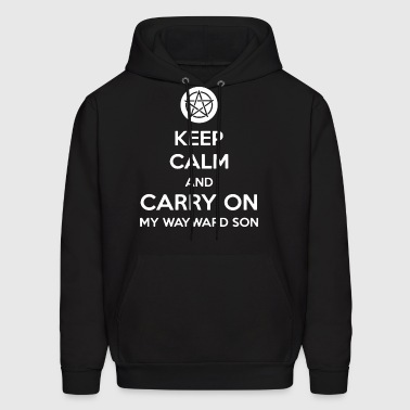 Keep Calm And Carry On My Wayward Son Women Long S - Men's Hoodie