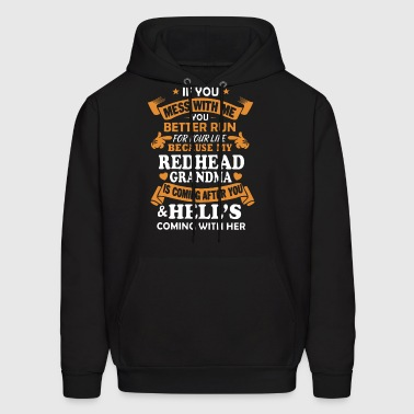 if you mess with me you better run for your life b - Men's Hoodie