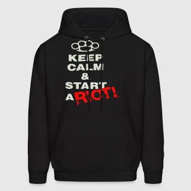 ThreeDays Grace Keep Calm Black New Official Adul - Men's Hoodie