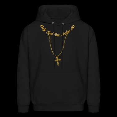 Cool Tup ac Gangster Only God Can Judge Me Jesus - Men's Hoodie