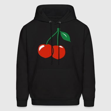 Cherries Design - Men's Hoodie