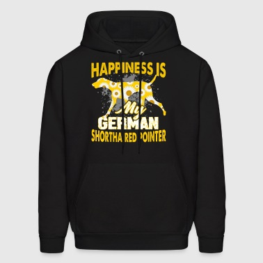 MY GERMAN SHORTHAIRED POINTER HAPPINESS SHIRT - Men's Hoodie