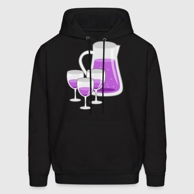 drinkspitcher drinks wein wine cocktails - Men's Hoodie