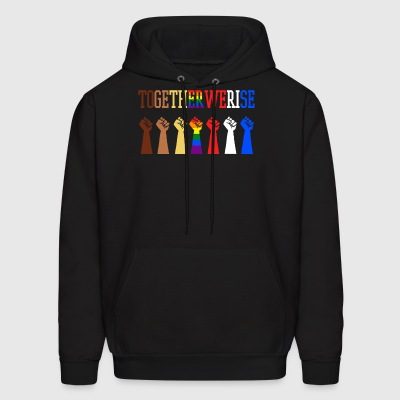 Together We Rise - Men's Hoodie