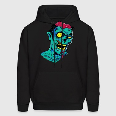 Zombie - Undead - Geek - Horror - Scifi - Dead - Men's Hoodie