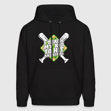 Hit And Steal T Shirt - Men's Hoodie