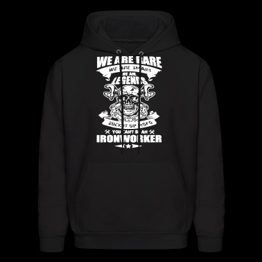 We Are Rare Ironworker T Shirt - Men's Hoodie