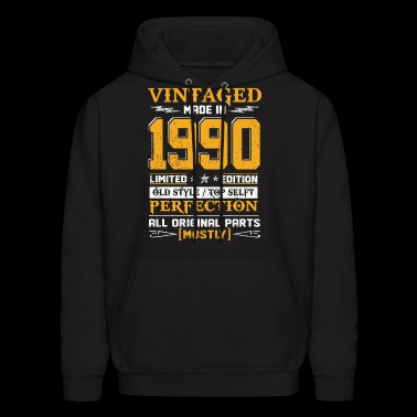 Vintaged Made In 1990 Limited Editon - Men's Hoodie