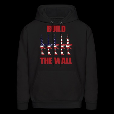 BUILD THE WALL - Men's Hoodie