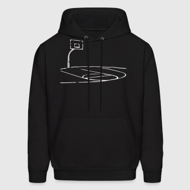 Basketball Home Court - Men's Hoodie