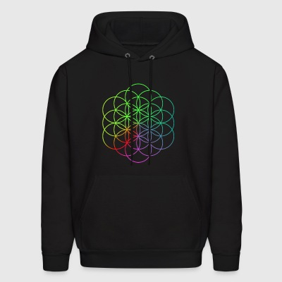 Coldplay Flower of Life - Men's Hoodie