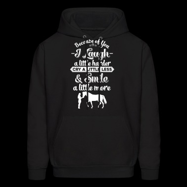 horse love quotes funny t shirt - Men's Hoodie