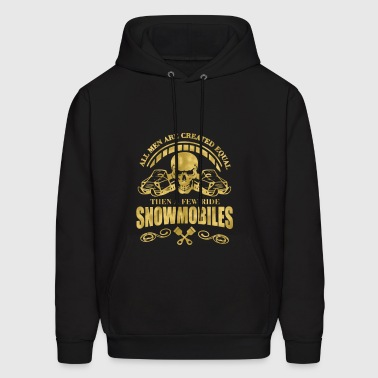 All men are created equal SnowMobile - Men's Hoodie