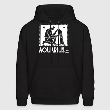 Horoscope Aquarius - Men's Hoodie