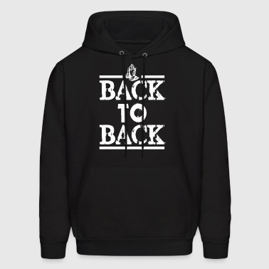 BACK TO BACK - Men's Hoodie