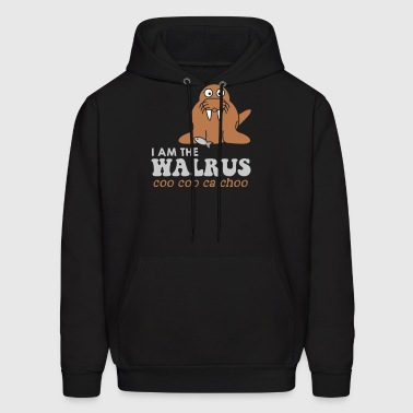Best Seller I am the Walrus - Men's Hoodie