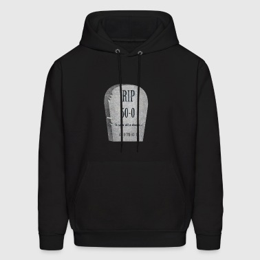 It was all a dream..: RIP Funny Tombstone - Men's Hoodie