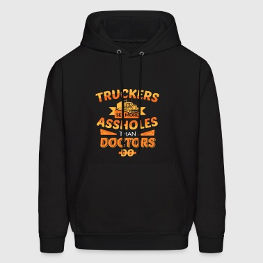 funny truck driver shirts Gift for Trucker - Men's Hoodie