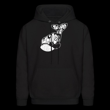 Save The Whales Funny T shirt - Men's Hoodie