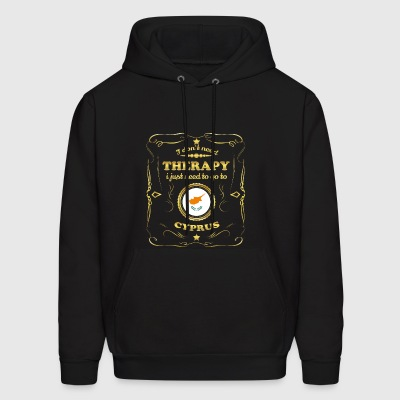 DON T NEED THERAPIE GO TO CYPRUS - Men's Hoodie