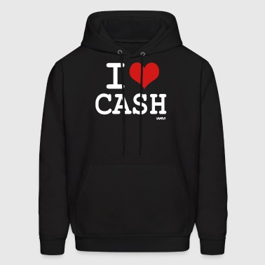 i love cash money by wam - Men's Hoodie