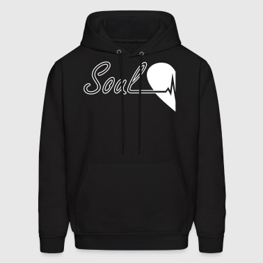 Soulmate Left Couple - Men's Hoodie
