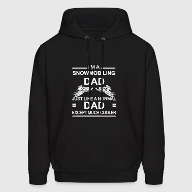 Snowmobiling Dad Shirt - Men's Hoodie
