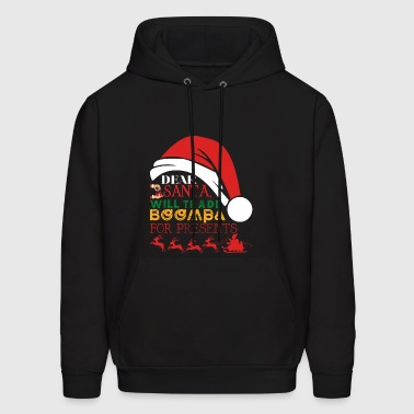 Dear Santa Will Trade Boompa For Presents - Men's Hoodie