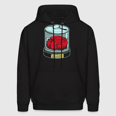 AbNormal do not use this brain - Men's Hoodie