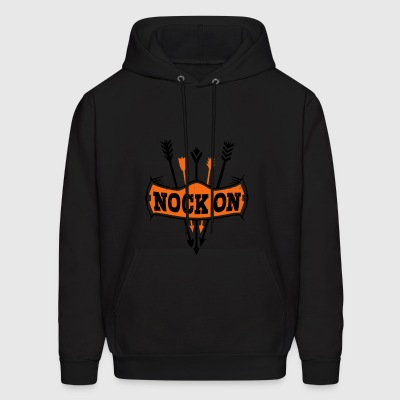 Nock on Arrows - Men's Hoodie