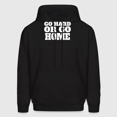 Go Hard Or Go Home Javelin Throw - Men's Hoodie