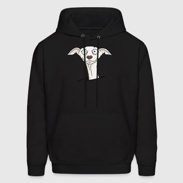 Greyhound Galgo Espanol Dog lovers comic funny - Men's Hoodie