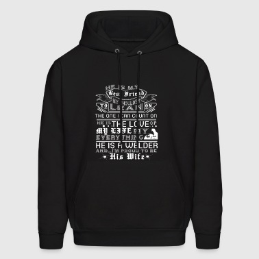 I Am Proud To Be His Wife T Shirt - Men's Hoodie