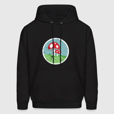 Mushrooms Roller Derby Roller Skating - Men's Hoodie