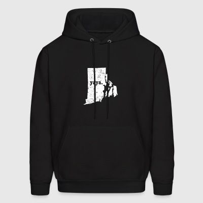 Best Yaya Rhode Island Grandmother - Men's Hoodie