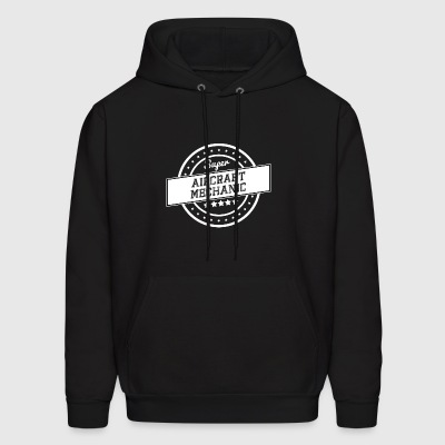 Super aircraft mechanic - Men's Hoodie