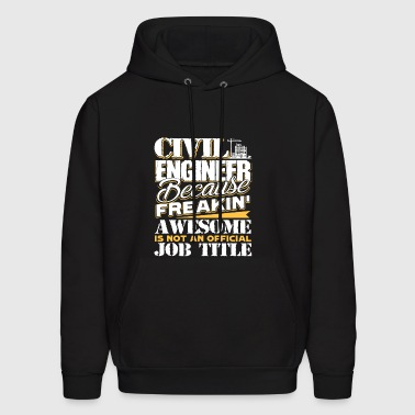 Civil Engineer Job Title Shirt - Men's Hoodie