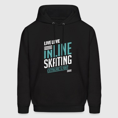 Inline Skating Shirt - Men's Hoodie