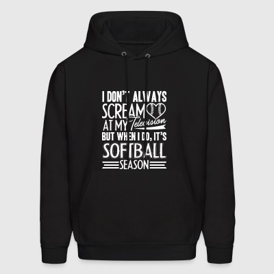 Softball Season Shirt - Men's Hoodie