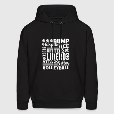 Volleyball Quotes Shirt - Men's Hoodie