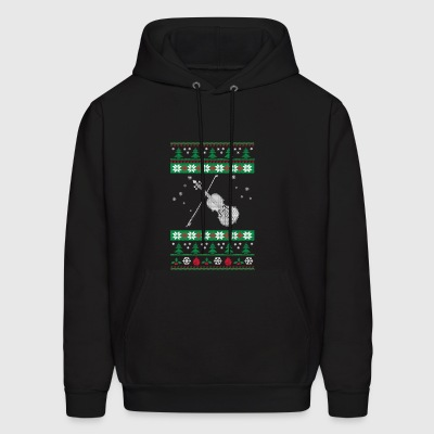 Just Spend Christmas Day With My Violin - Men's Hoodie