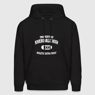 Property of riverdale high xxx athletic department - Men's Hoodie
