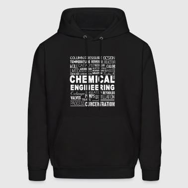 Chemical Engineering Word Shirt - Men's Hoodie
