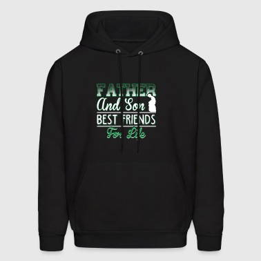 Father And Son Best Friends For Life T Shirt - Men's Hoodie