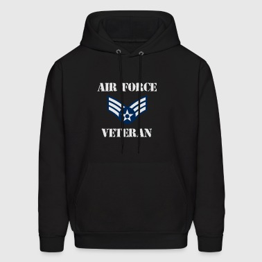 USA Pride Air Force Veteran Shirt - Men's Hoodie